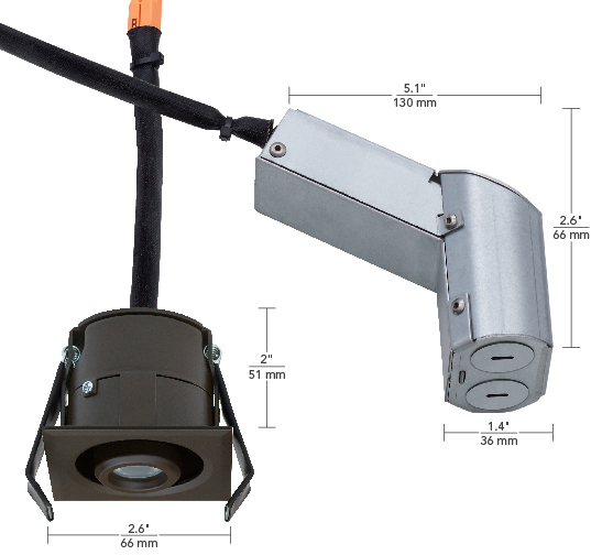 120V Adjustable Square